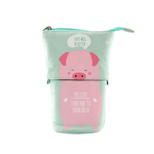 Load image into Gallery viewer, Pop Up Cute Kitten Pencil Case 1688 Pig