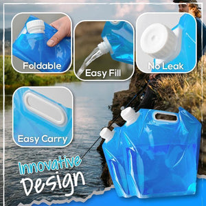 Portable Folding Water Carrier - 3PCS 1688