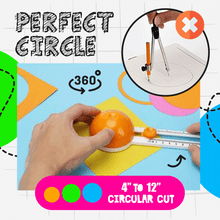 Load image into Gallery viewer, Precise Circle Cutter 1688
