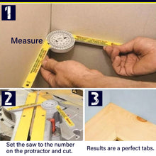 Load image into Gallery viewer, Professional Miter Saw Protractor 1688