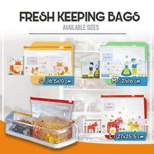 Load image into Gallery viewer, Punch-Free Telescopic Fresh-Keeping Bags Rail Rack 1688 15PCS Fresh-Keeping Bags (M)