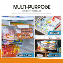 Load image into Gallery viewer, Punch-Free Telescopic Fresh-Keeping Bags Rail Rack 1688