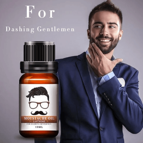 Pure Organic Hair Growth Essence Moustache Oil 1668