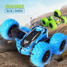 Load image into Gallery viewer, Remote Control Stunt Car 1688 Blue