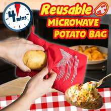 Load image into Gallery viewer, Reusable Microwave Potato Bag 1688