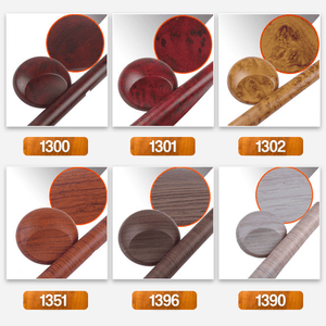 Self Adhesive Car Wood Grain Sticker 1688 1300 2PCS