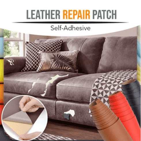 Self-Adhesive Leather Repairing Patch 1688 Black