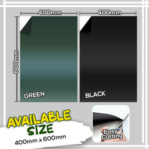 Self-Adhesive Magnetic Blackboard Wall Sticker 1688 Green