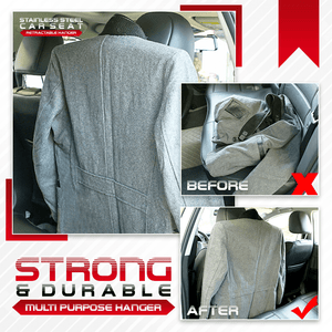 Stainless Steel Car Seat Retractable Hanger 1688