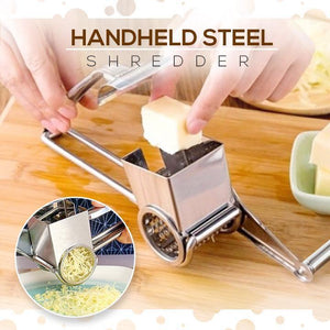 Stainless Steel Cheese And Vegetables Grater 1688