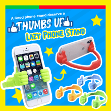 Load image into Gallery viewer, Thumbs Up Lazy Phone Stand 1688 Black