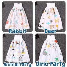 Load image into Gallery viewer, Toddler Cotton Diaper Skirts 1688