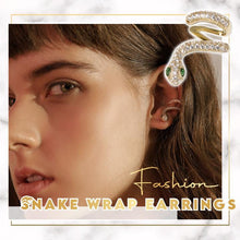 Load image into Gallery viewer, Trendy Snake Wrap Earrings 1668 Right Ear