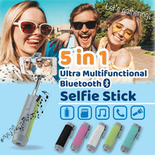 Load image into Gallery viewer, Ultra Multifunctional Bluetooth Selfie Stick 1668