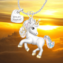 Load image into Gallery viewer, Unicorn Necklace 1688