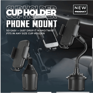 Universal Adjustable Cup Holder Phone Mount 1688 Type A