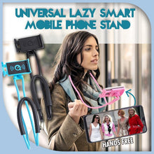 Load image into Gallery viewer, Universal Lazy Smart Mobile Phone Stand 1688 Blue