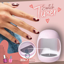 Load image into Gallery viewer, USB Charging Mini Nail Light Therapy Machine 1688