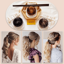 Load image into Gallery viewer, Vintage Geometric Retractable Hair Loops-2PCS 1688