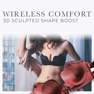 Wire-Free Seamless Front Buckle Strapless Innerwear 1688