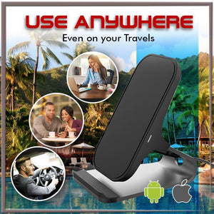 Wireless Fast Charging Phone Holder 1688