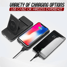 Load image into Gallery viewer, Wireless Phone Charging Power Bank Plus Holder 1688