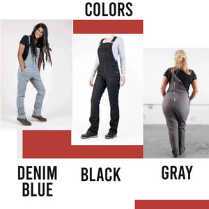Women Stretchy Canvas Casual Working Pants 1688 XS Denim Blue