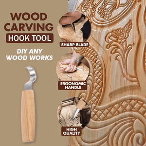 Wood Carving Hook Tools Set 1688 Hook Tool ONLY