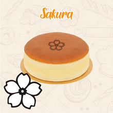 Load image into Gallery viewer, Wooden Cake Baking Stamp Handle 1688 Sakura