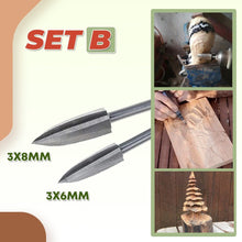 Load image into Gallery viewer, Woodwork Carving Engraving Drill Set 1688 B (6mm/8mm)