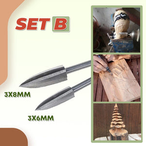 Woodwork Carving Engraving Drill Set 1688 B (6mm/8mm)