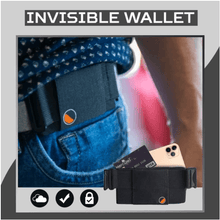 Load image into Gallery viewer, Zero Pouch-The Minimalist Invisible Wallet Harmoninia 125mm x 76mm