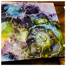 Load image into Gallery viewer, Alcohol Ink and Resin Online Tutorial with Lexi Grenzer