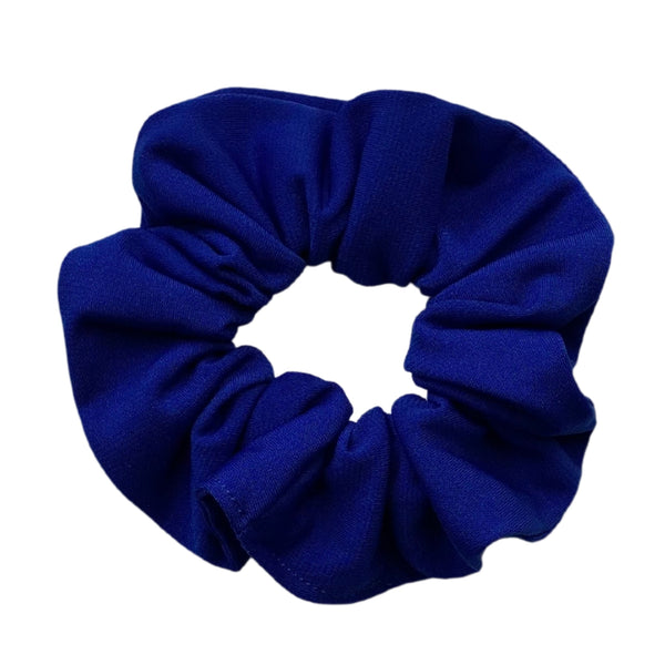 royal blue ice scrunchie Pipevine Designs