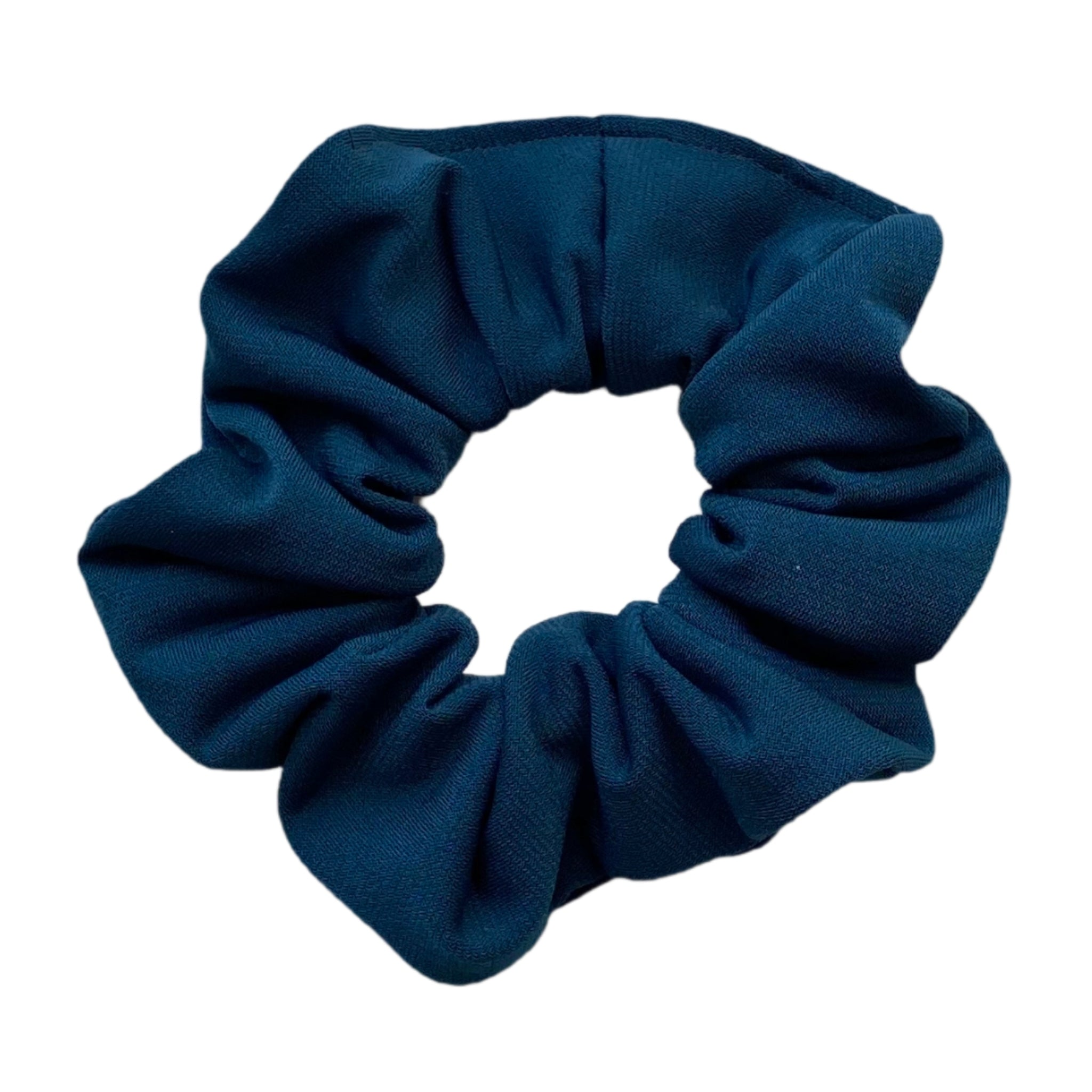 teal ice scrunchie. Pipevine Designs