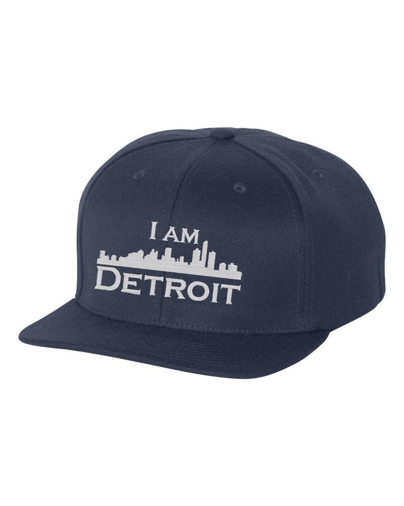 Gameday Flat Bill Snapback - Navy