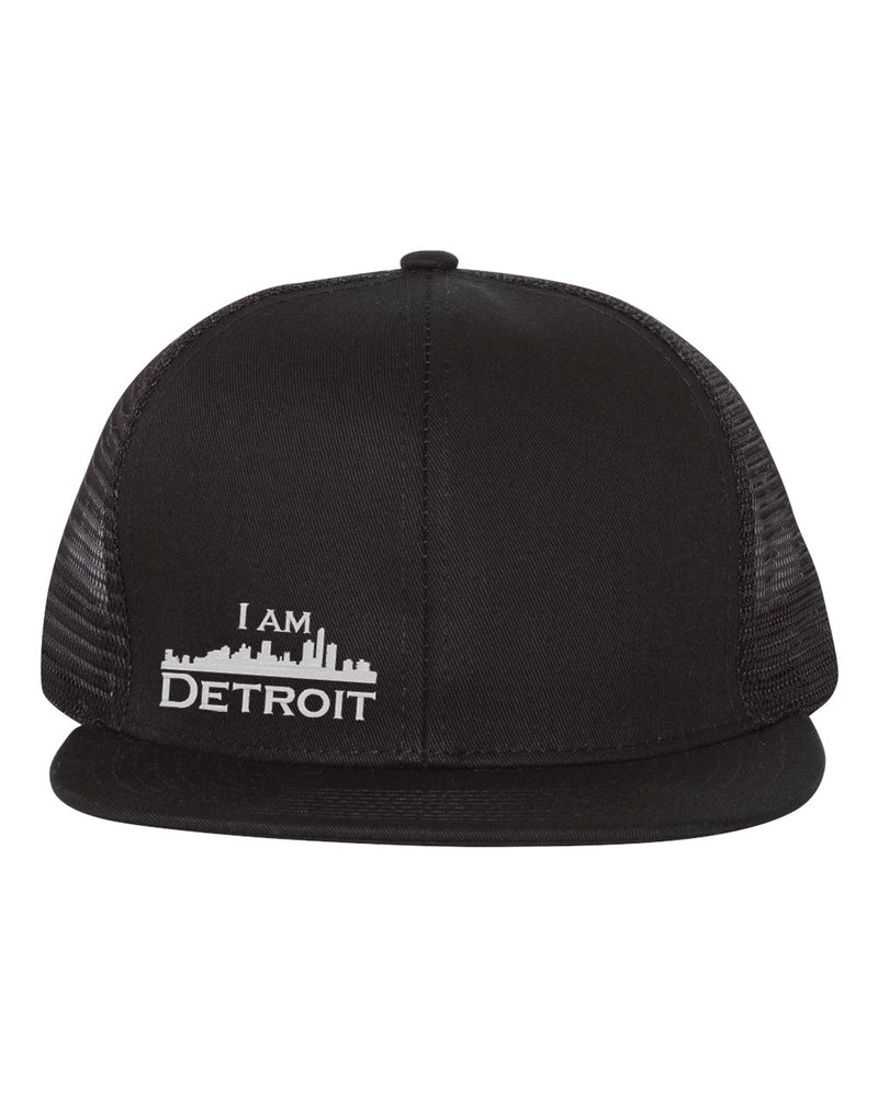 Midtown Mesh Trucker Snapback - Black