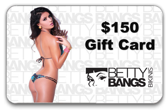 $150 Gift Card - Betty Bangs Bikinis