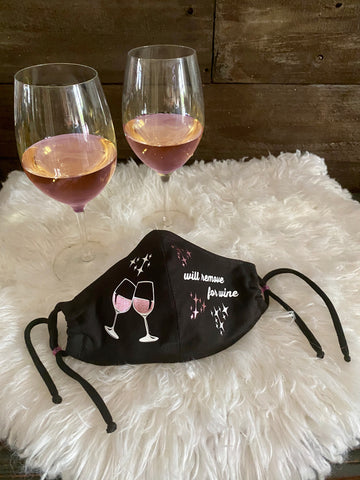 Will Remove For Wine Face Mask