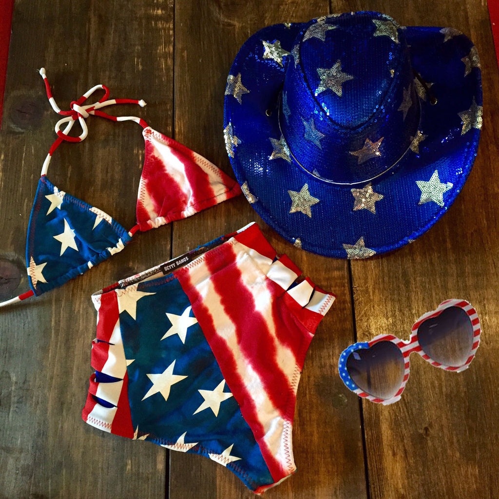 Ms. Merica - Betty Bangs Bikinis  - 4