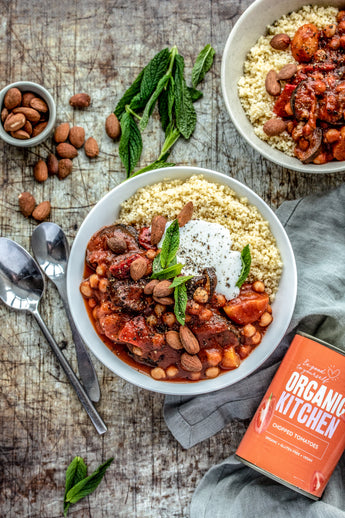 Aubergine and Chickpea Tagine
