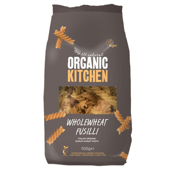 Organic Fusilli Wholewheat 500 g
