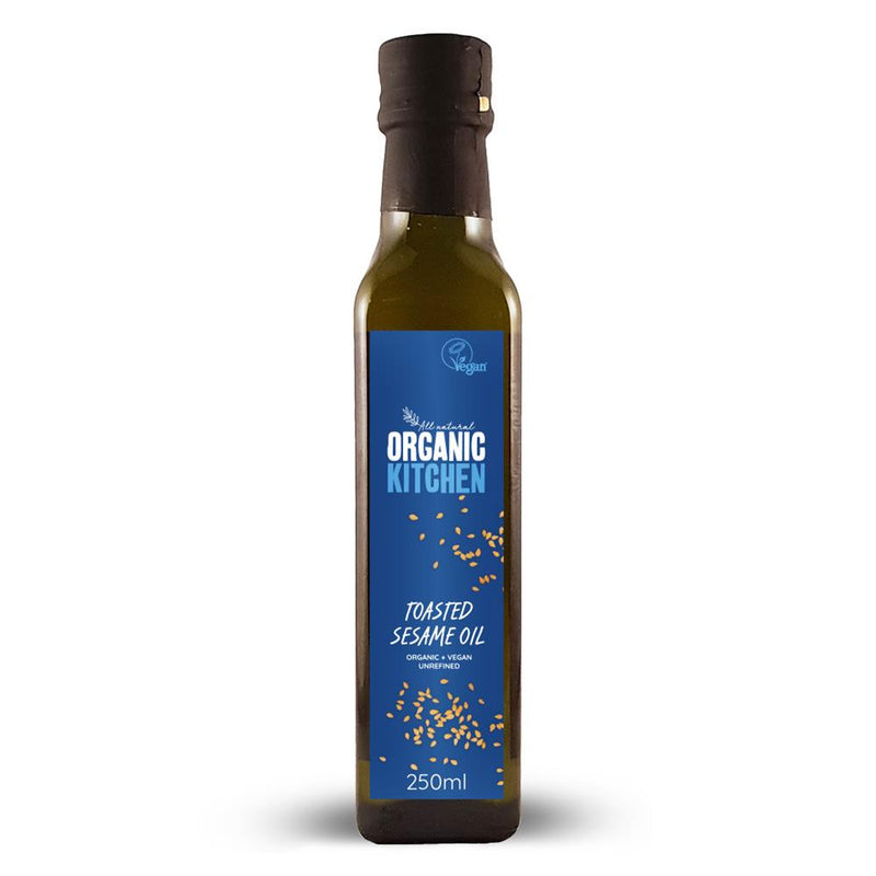 Org Toasted Sesame Oil 250 ML
