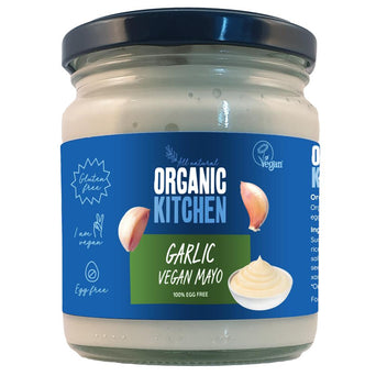 Organic Vegan Garlic Mayo 240 ML