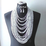 White and black Nigerian beads online 2014