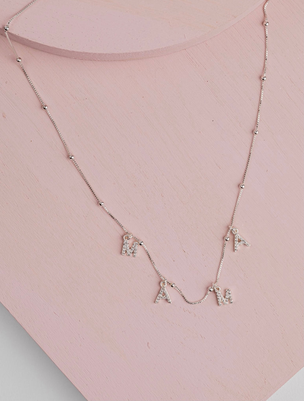 MAMA Necklace | Silver