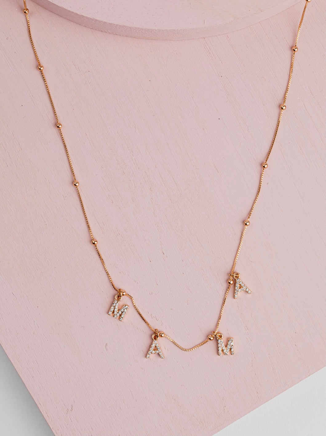 MAMA Necklace | Gold