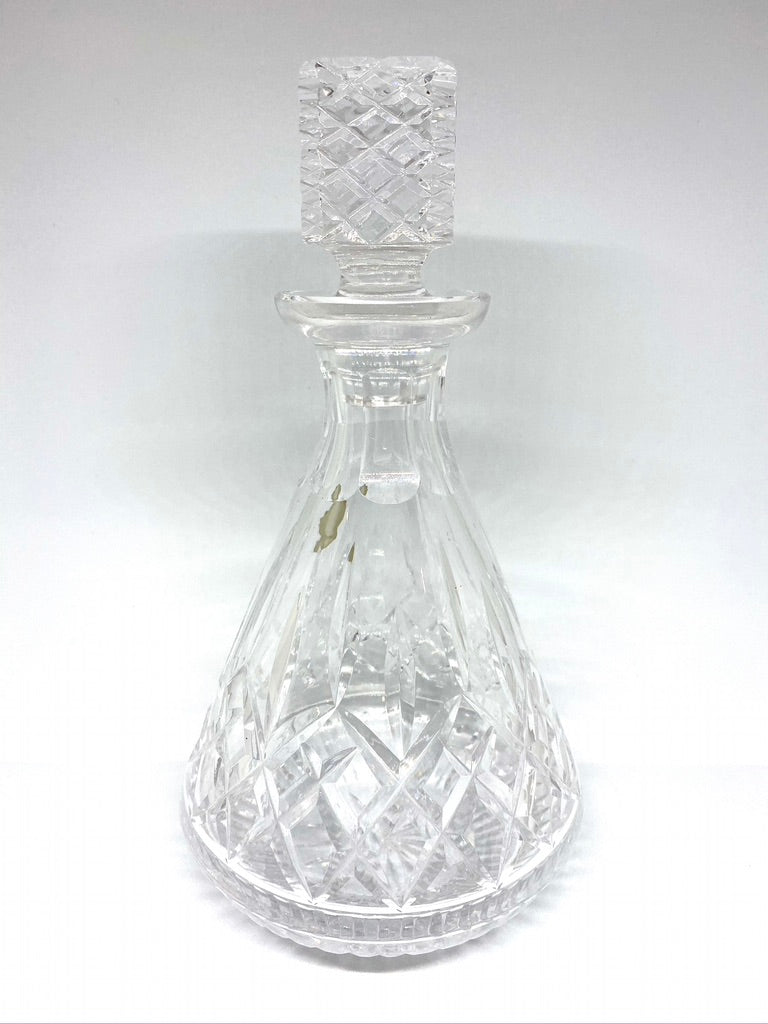 Waterford Crystal Roly-Poly Decanter in the Lismore Pattern