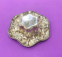 Load image into Gallery viewer, Silver Bowl by Gorham with Flower Border