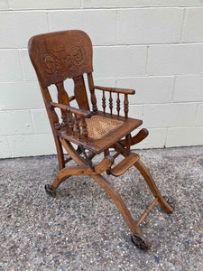 FS0034 Victorian Childs Metamorphic High Chair